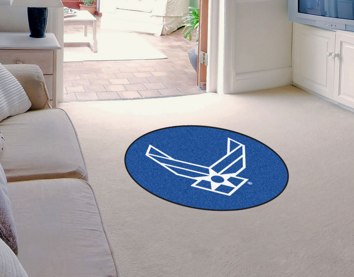 Air Force Falcons MASCOT 36 x 48 Floor Mat