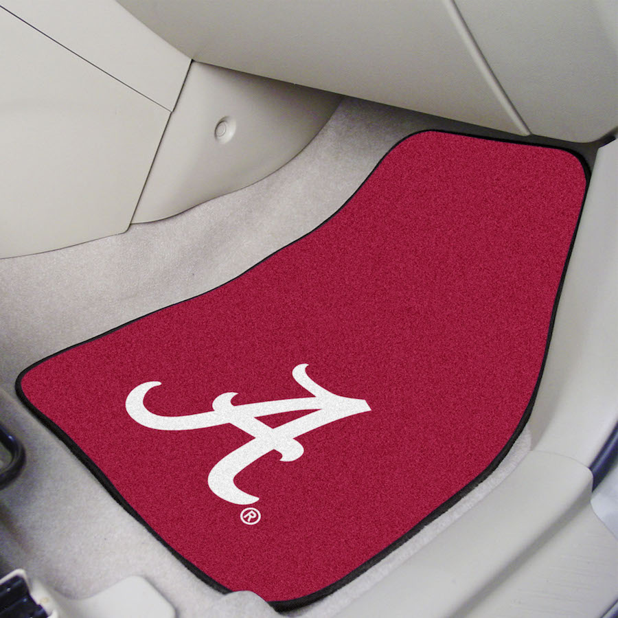 Alabama Crimson Tide Carpeted Car Floor Mats Buy At Khc