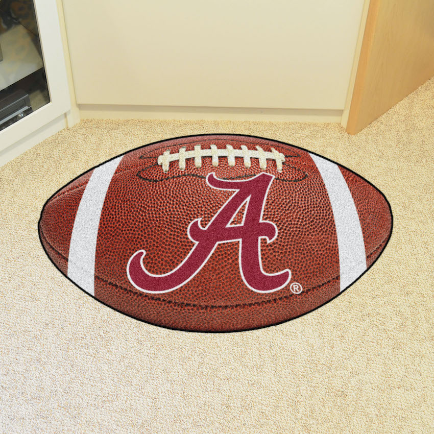 Alabama Crimson Tide Football Floor Mat Buy At Khc Sports