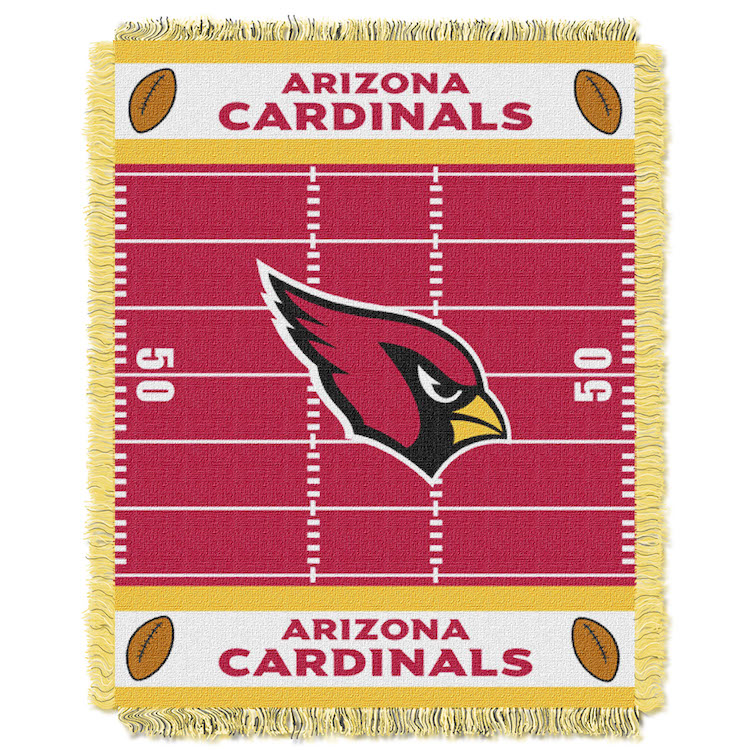 Arizona Cardinals Woven Baby Blanket 36 x 48
