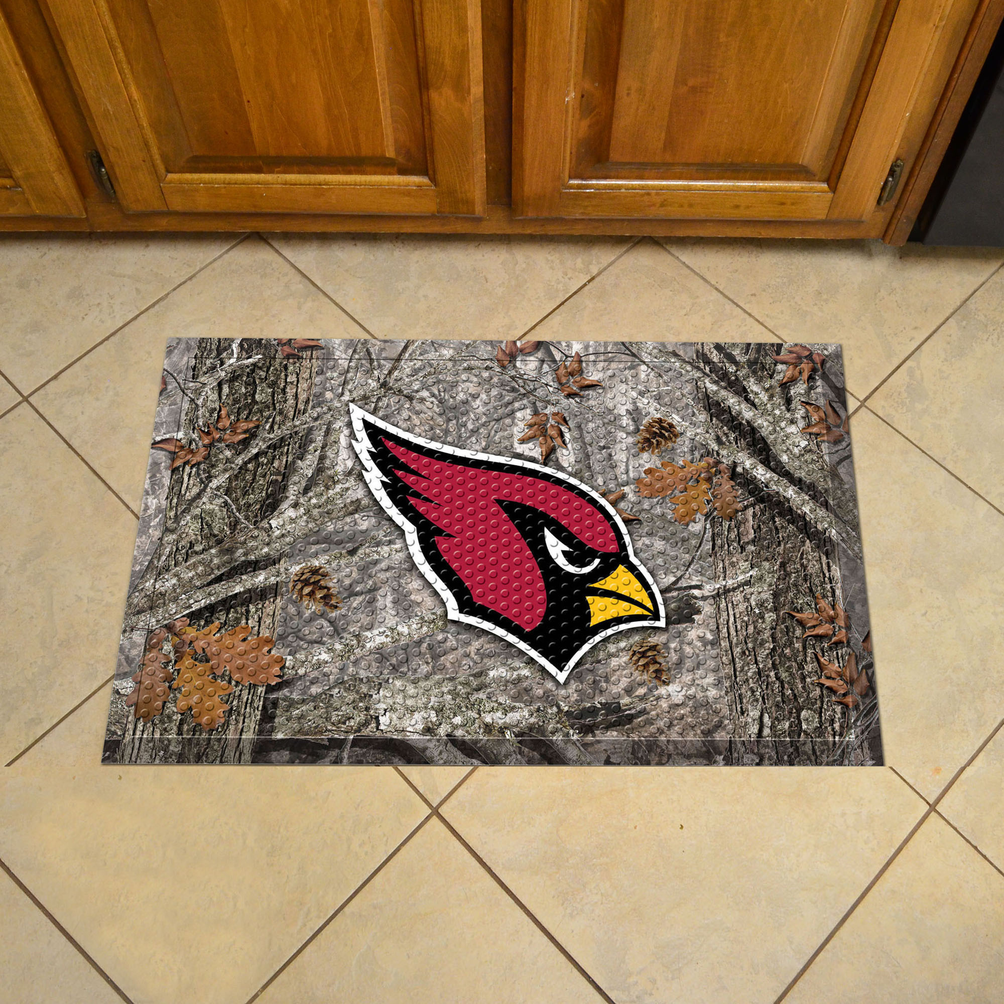 Arizona Cardinals Camo Style SCRAPER Door Mat