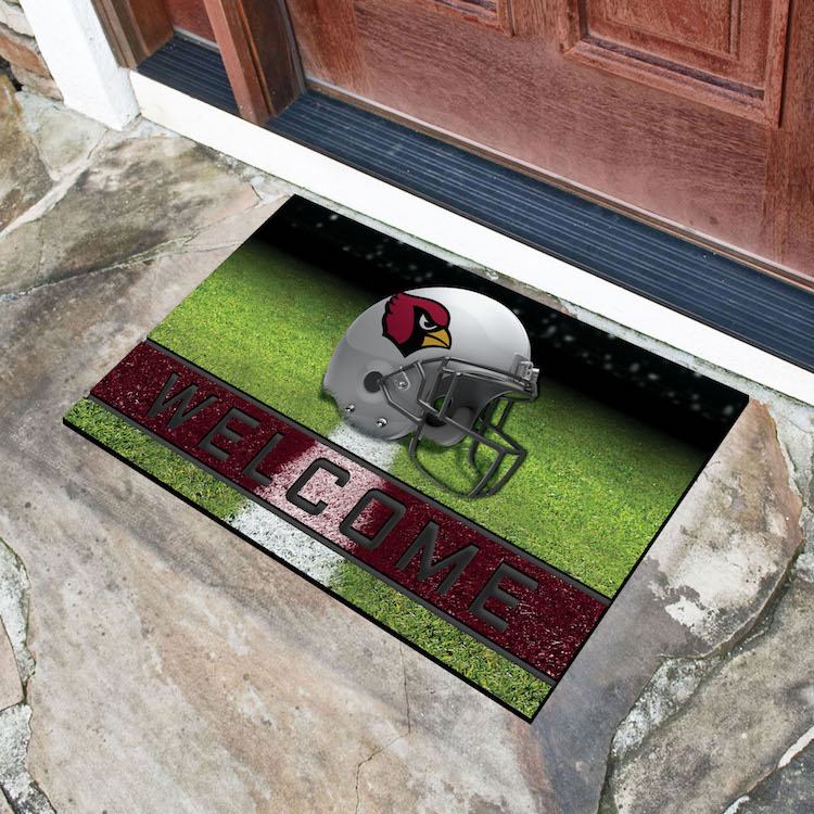 Arizona Cardinals Recycled Crumb Rubber Door Mat