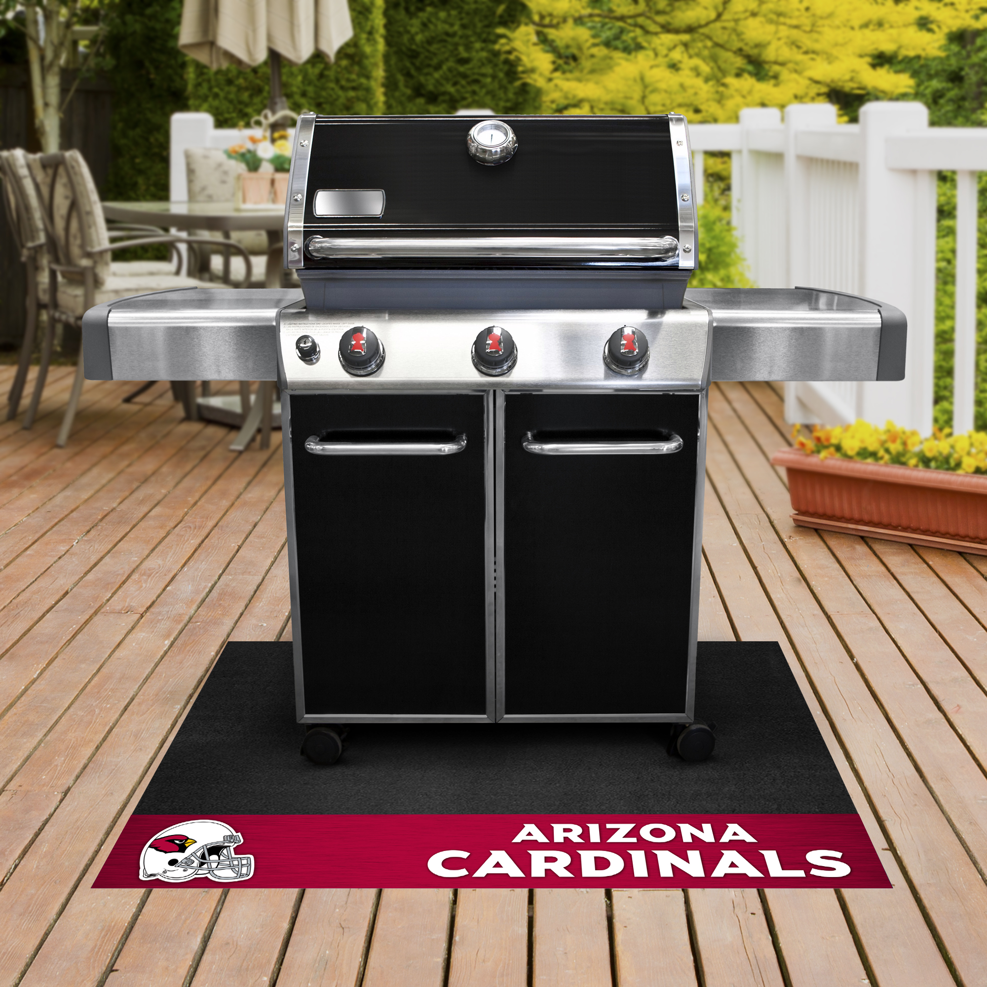 Arizona Cardinals NFL Grill Mat