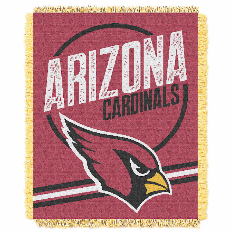 Arizona Cardinals Double Play Tapestry Blanket 48 x 60