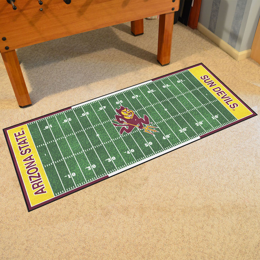 Arizona State Sun Devils 30 x 72 Football Field Carpet Runner