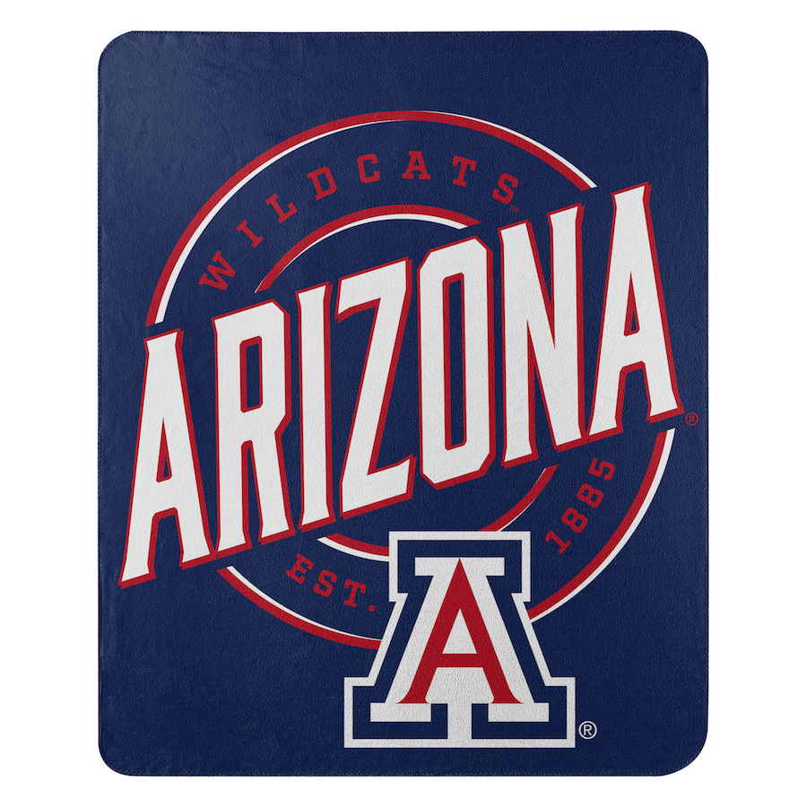 Arizona Wildcats Fleece Throw Blanket 50 x 60