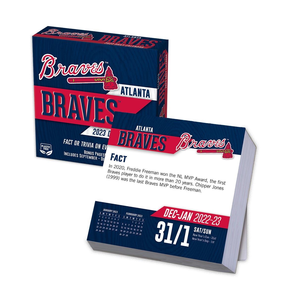 Atlanta Braves 2018 Page A Day Box Calendar Buy At Khc
