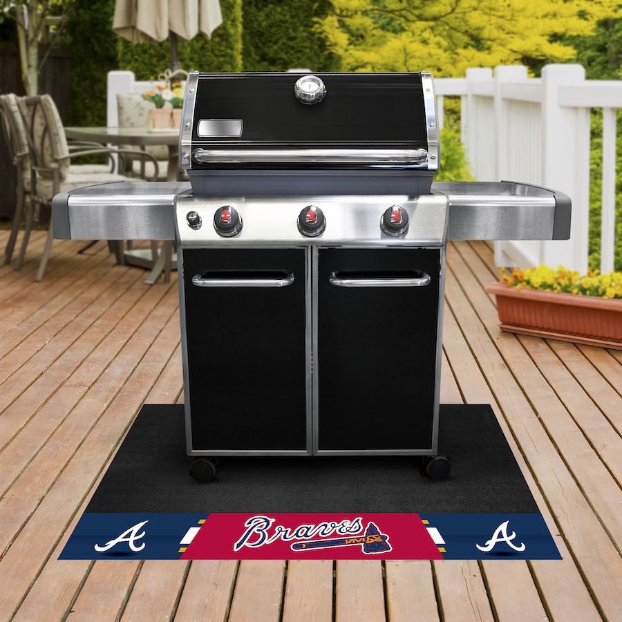 Atlanta Braves MLB Grill Mat