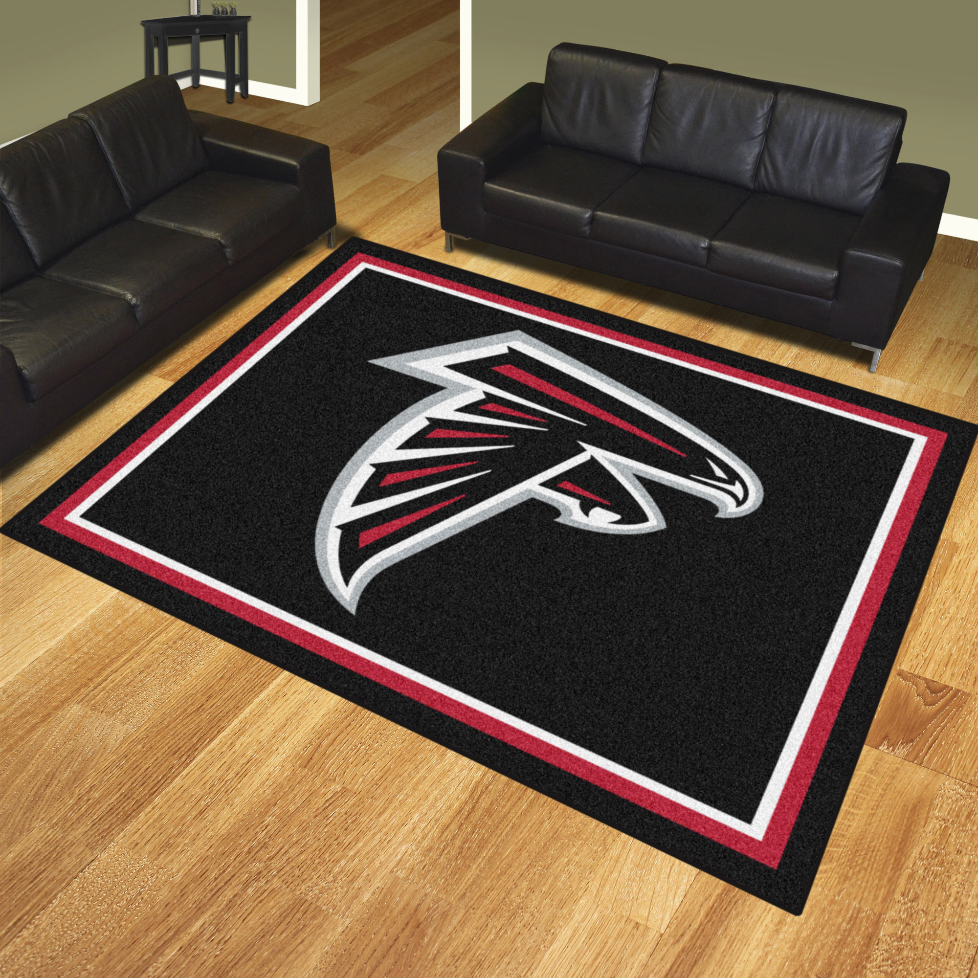 Atlanta Falcons Ultra Plush 8x10 Area Rug
