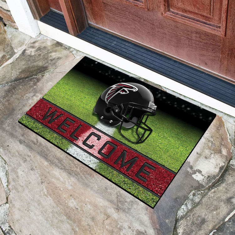 Atlanta Falcons Recycled Crumb Rubber Door Mat