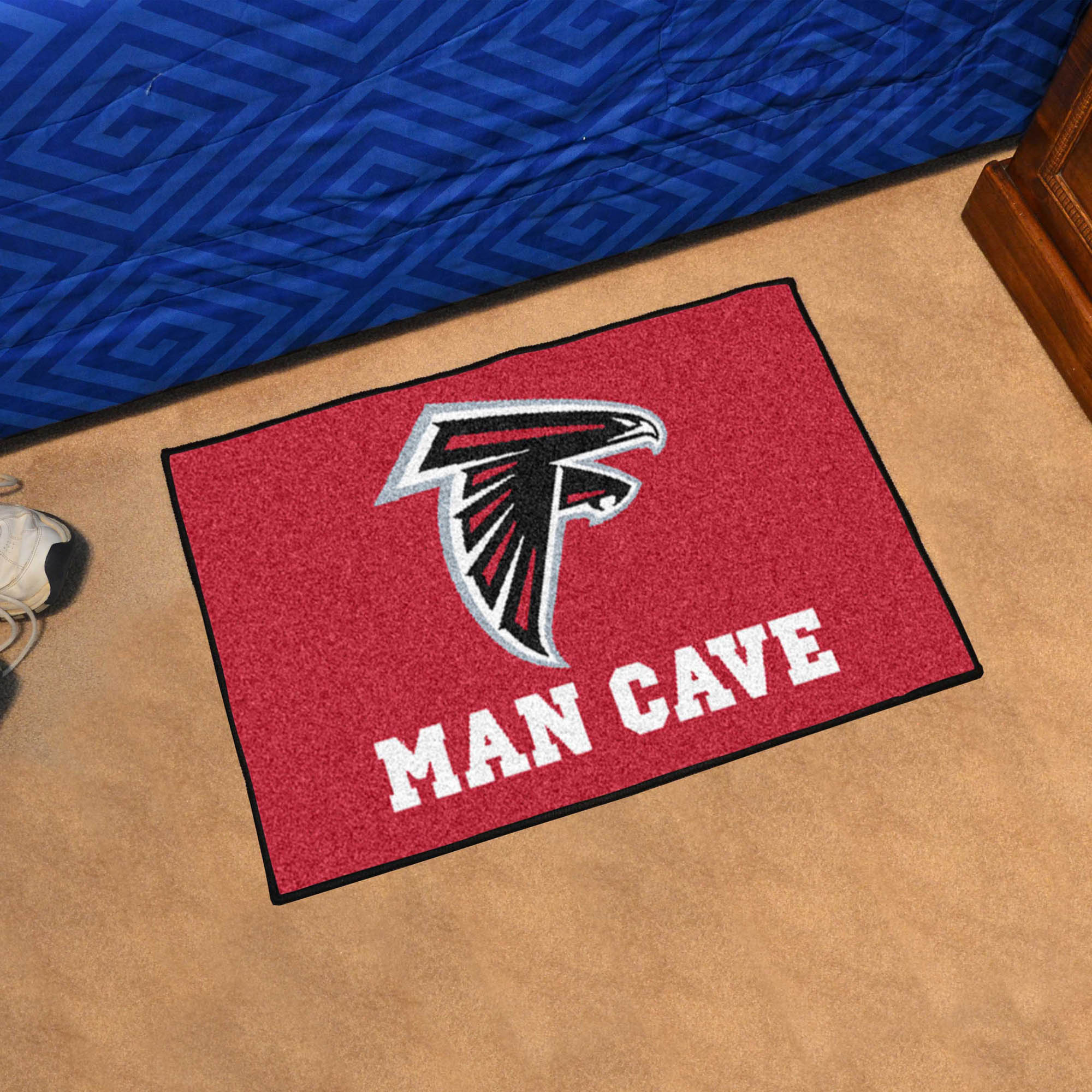 Atlanta Falcons MAN CAVE 20 x 30 STARTER Floor Mat