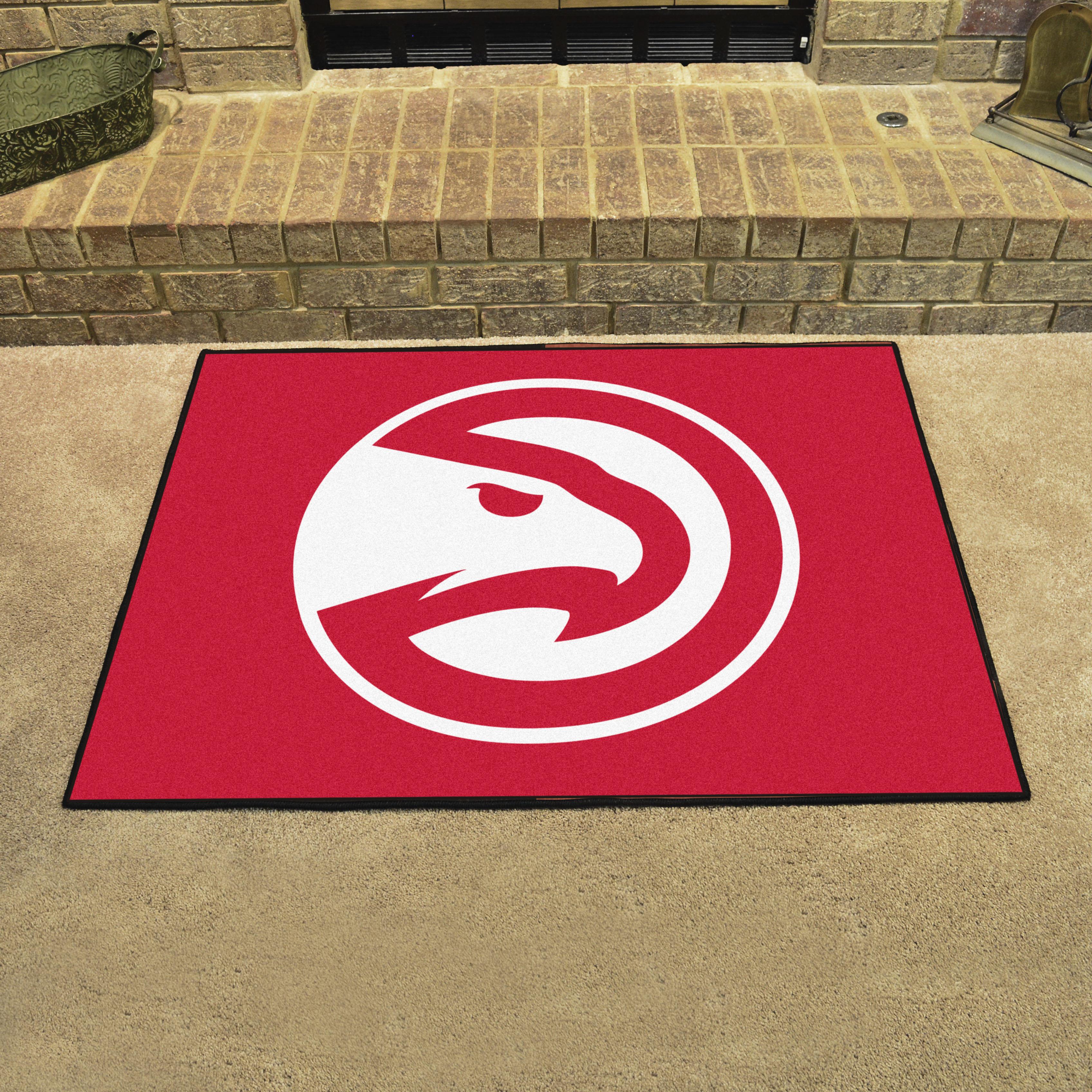 Cheap Wood Flooring Atlanta: Atlanta Hawks ALL STAR 34 X 45 Floor Mat