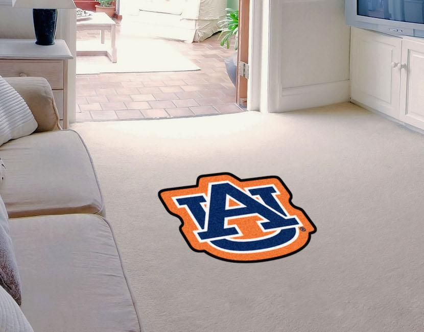 Auburn Tigers Mascot 36 X 48 Floor Mat Buy At Khc Sports