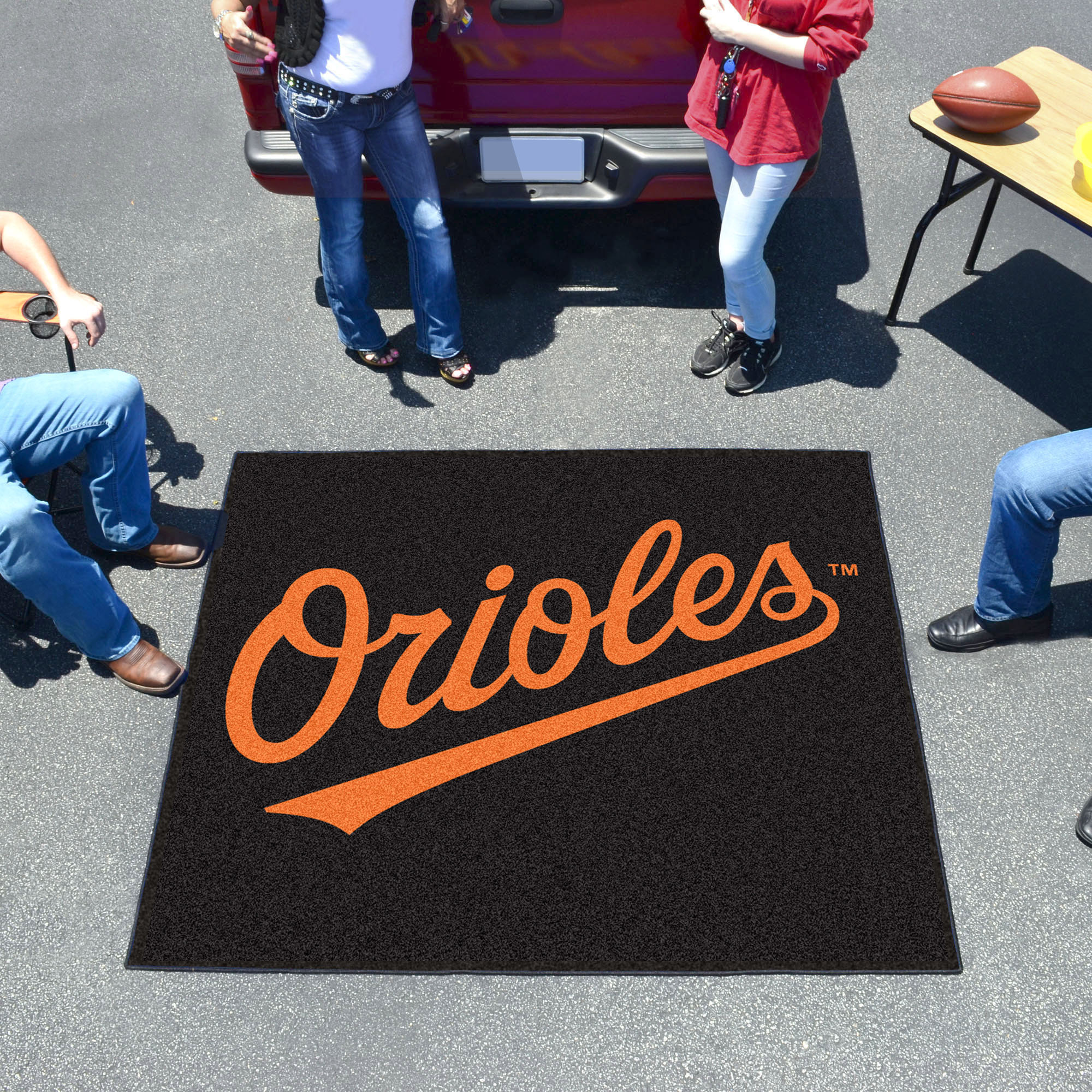 Baltimore Orioles TAILGATER 60 x 72 Rug