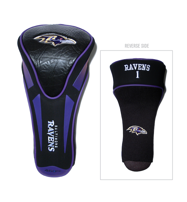 Baltimore Ravens Single Apex Driver Headcover