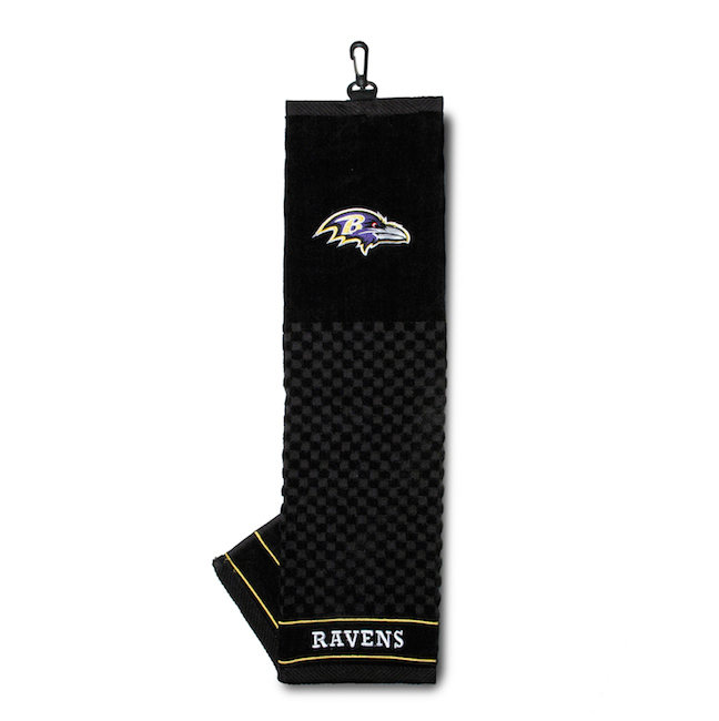 Baltimore Ravens Embroidered Golf Towel
