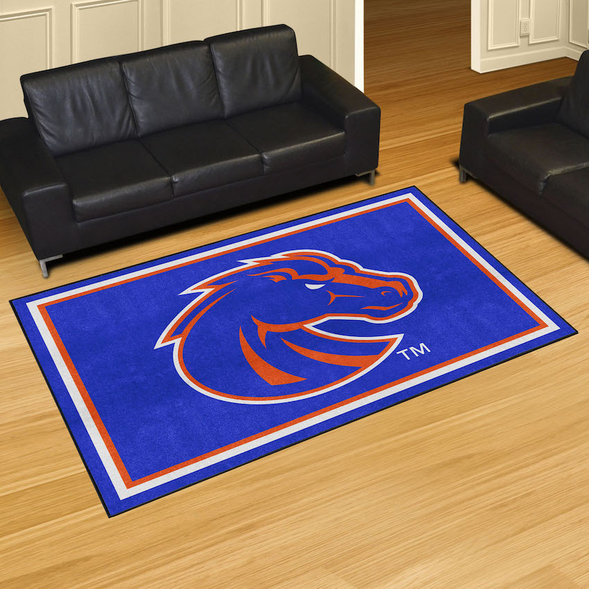 Boise State Broncos 5x8 Area Rug