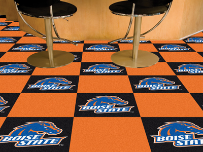 Boise State Broncos Carpet Tiles 18x18 in.