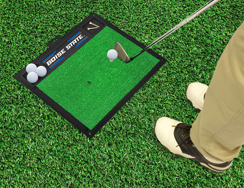 Boise State Broncos Golf Hitting Mat
