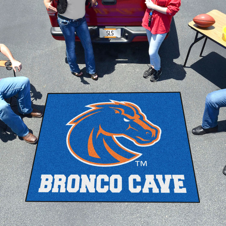 Boise State Broncos MAN CAVE TAILGATER 60 x 72 Rug