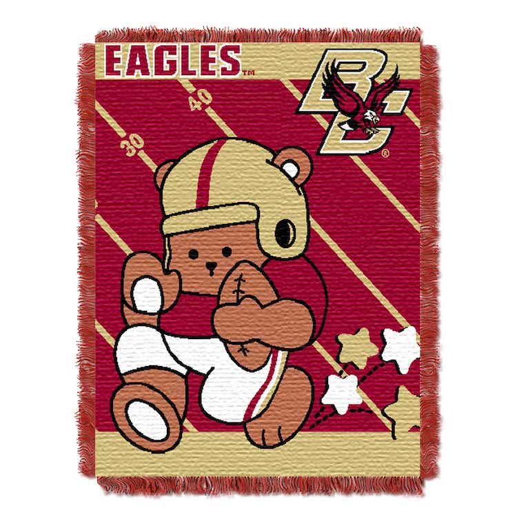 Boston College Eagles Woven Baby Blanket 36 x 48