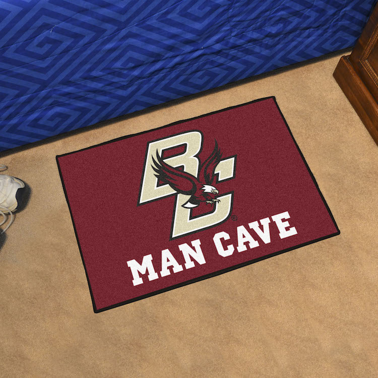 Boston College Eagles MAN CAVE 20 x 30 STARTER Floor Mat