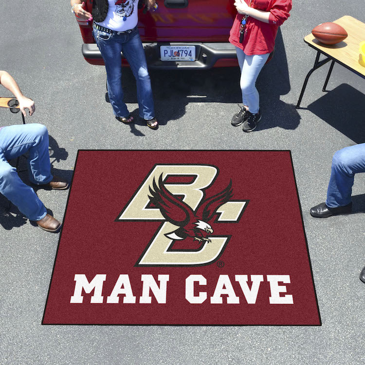 Boston College Eagles MAN CAVE TAILGATER 60 x 72 Rug