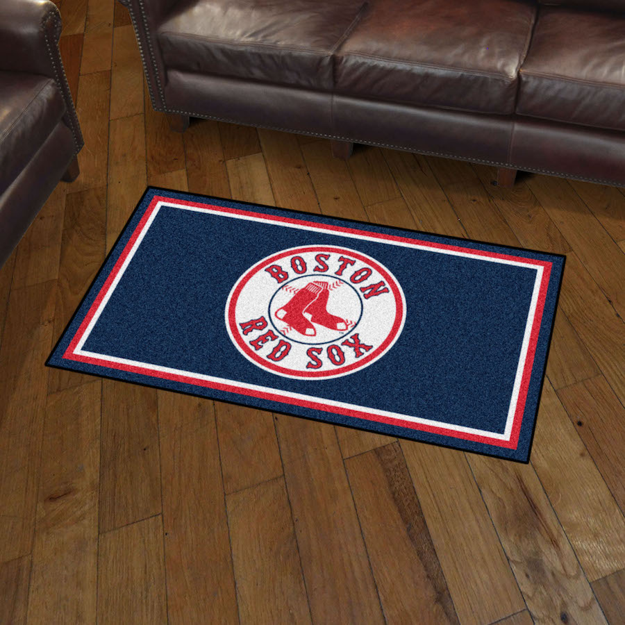Boston Red Sox 3x5 Area Rug