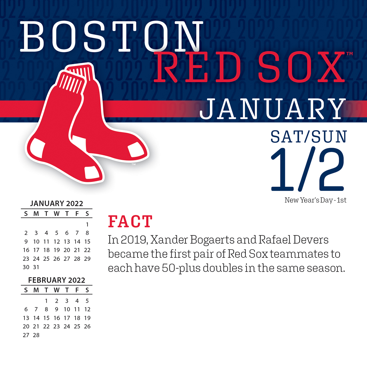 Boston Red Sox 2018 Page A Day Box Calendar Buy At Khc