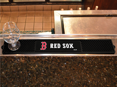 Boston Red Sox Bar Drink Mat