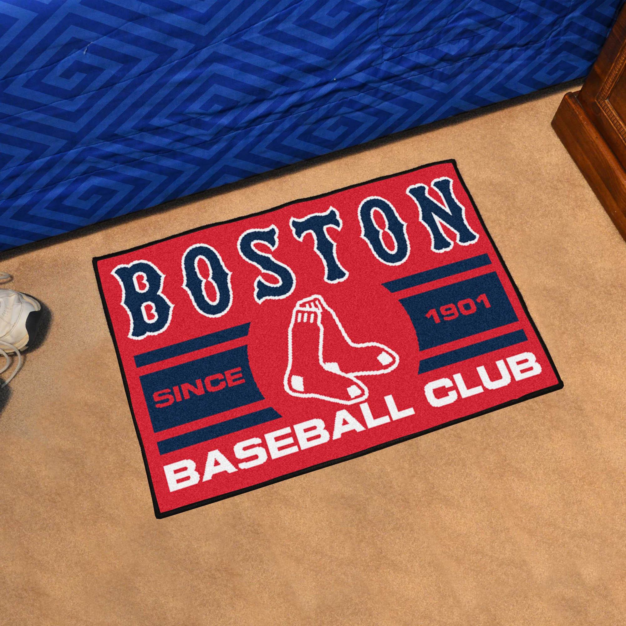 Boston Red Sox 20 x 30 Uniform STARTER Floor Mat