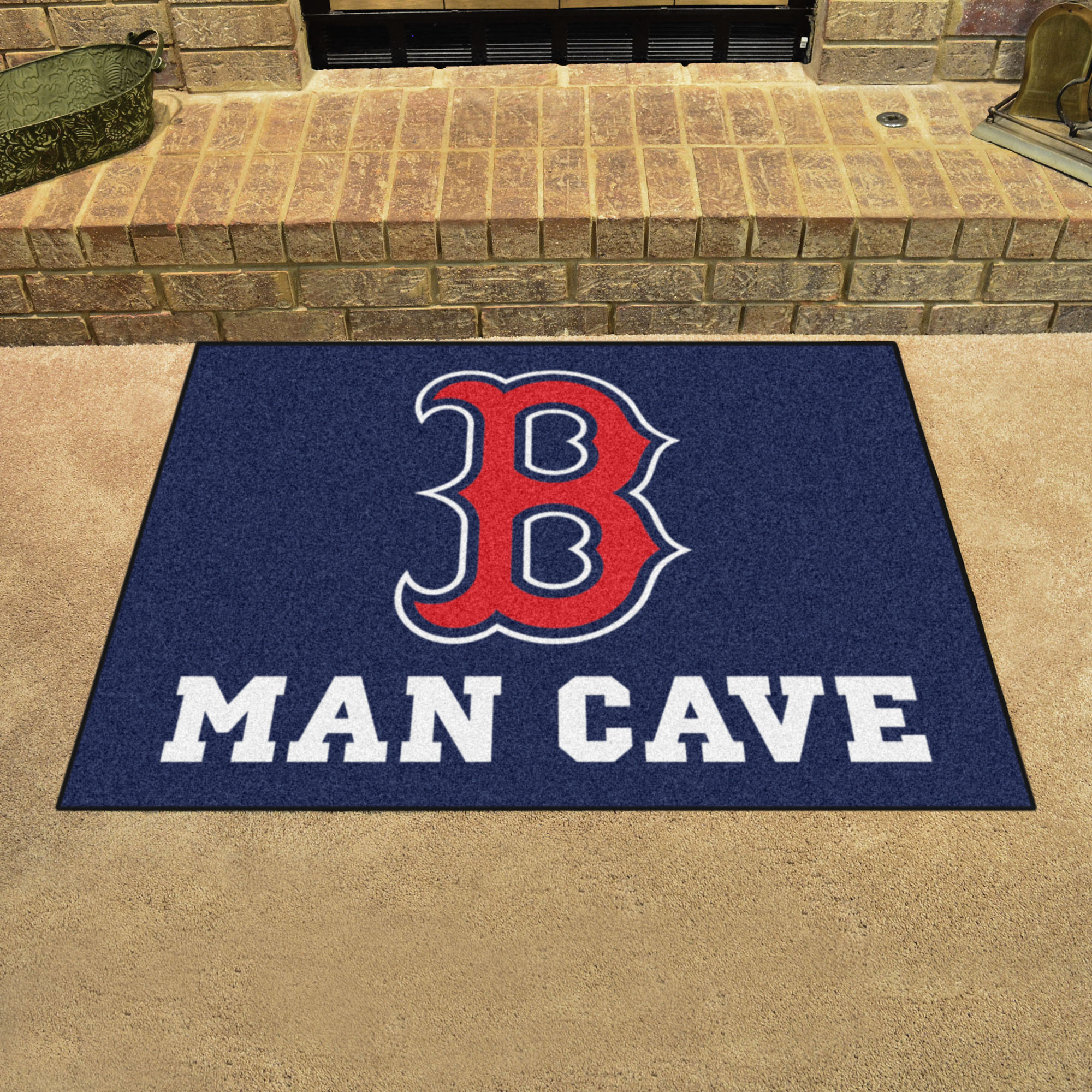 Boston Red Sox ALL STAR 34 x 45 MAN CAVE Floor Mat