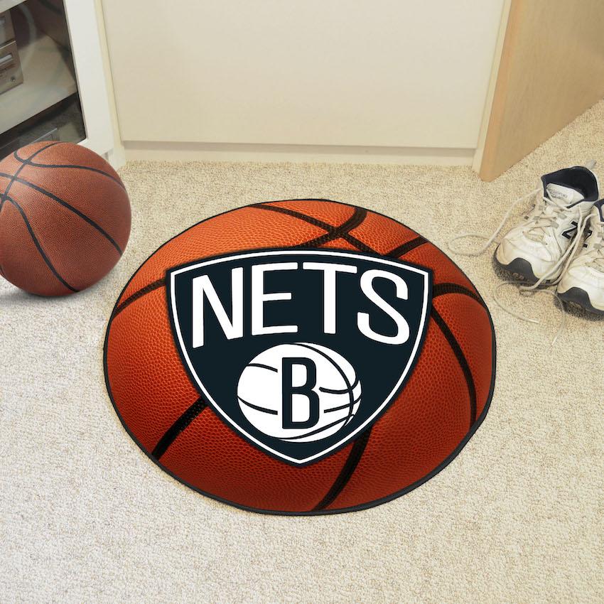 Brooklyn Nets Basketball Floor Mat