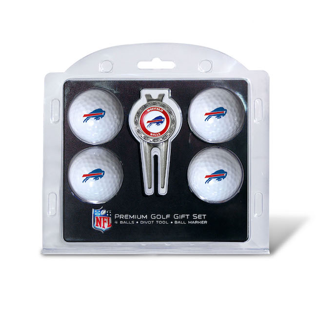 Buffalo Bills 4 Golf Ball and Divot Tool Set
