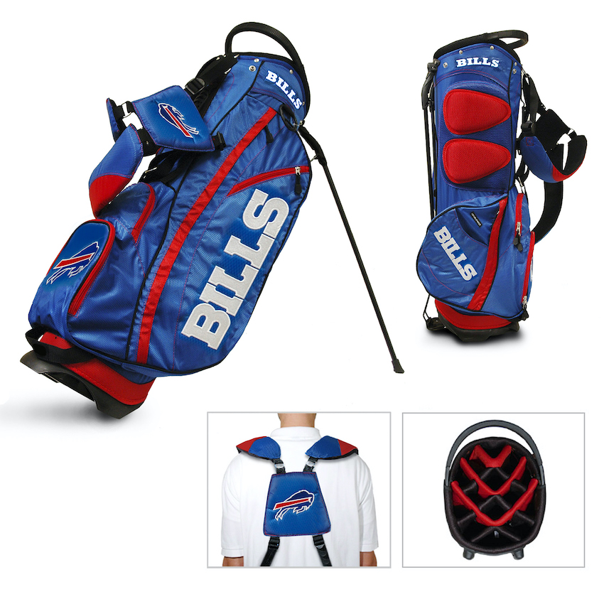 Buffalo Bills Fairway Carry Stand Golf Bag