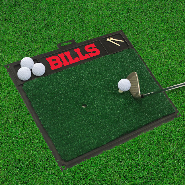 Buffalo Bills Golf Hitting Mat