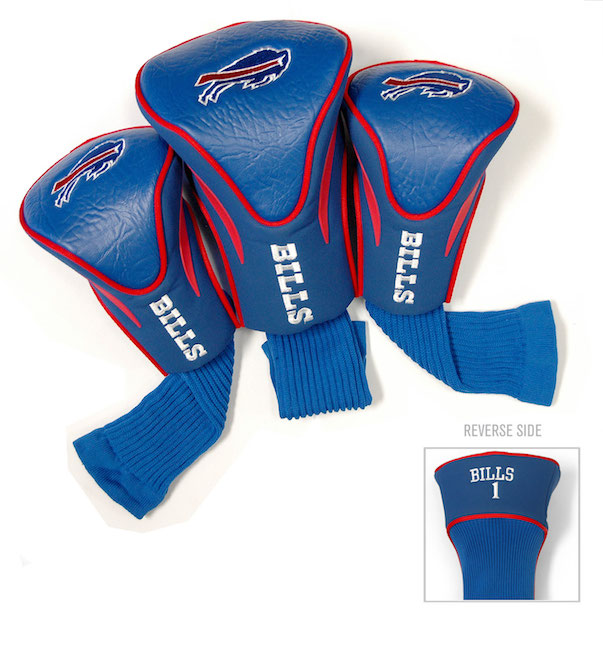 Buffalo Bills 3 Pack Contour Headcovers