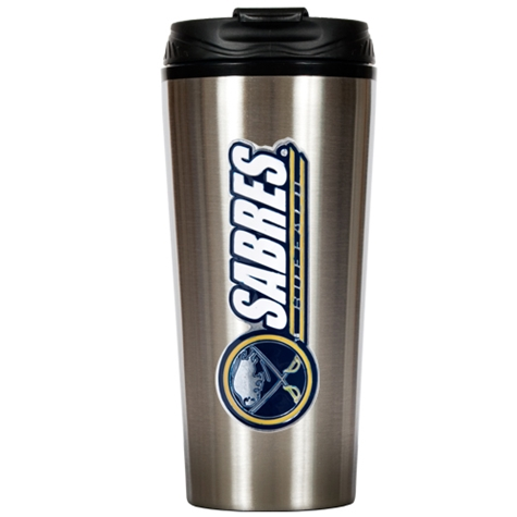 Buffalo Sabres 16 Ounce Stainless Steel Travel Tumbler Mug