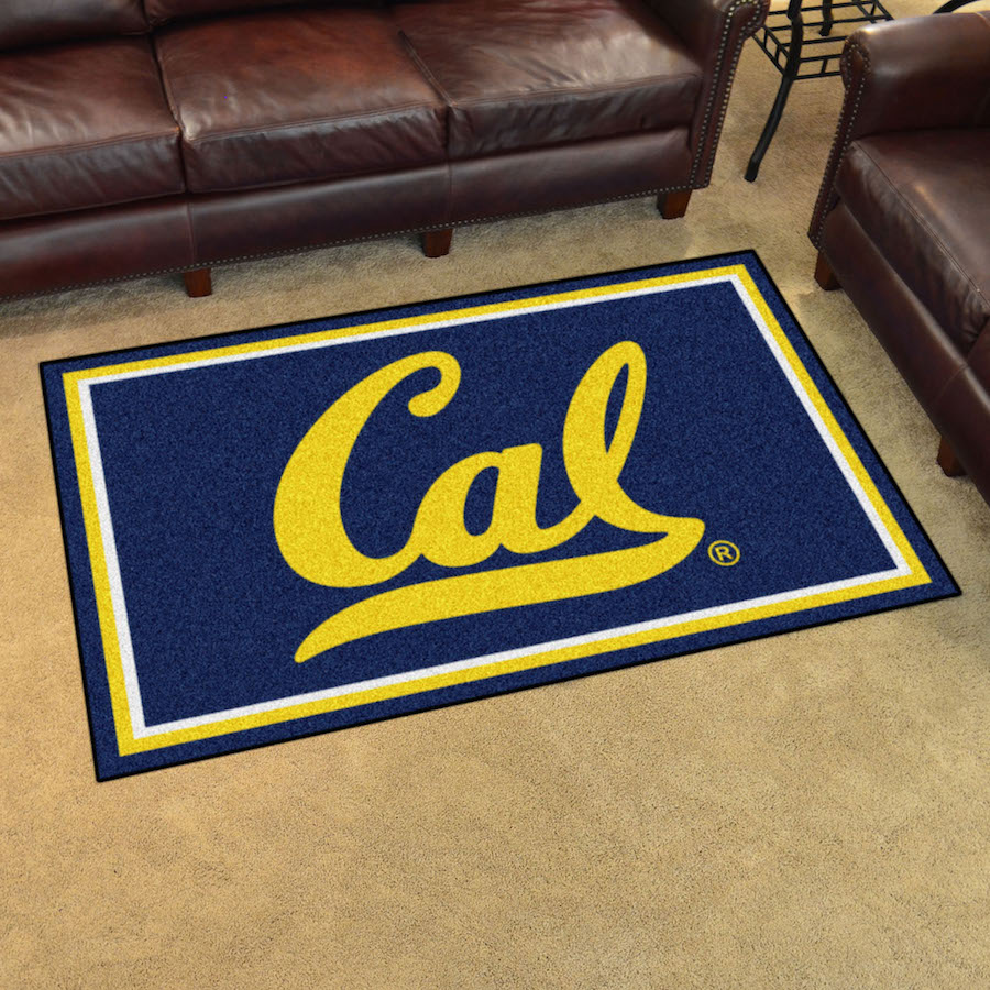 California Golden Bears 4x6 Area Rug