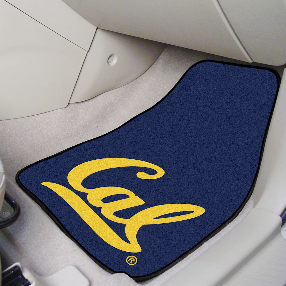 California Golden Bears Car Floor Mats 18 x 27 Carpeted-Pair