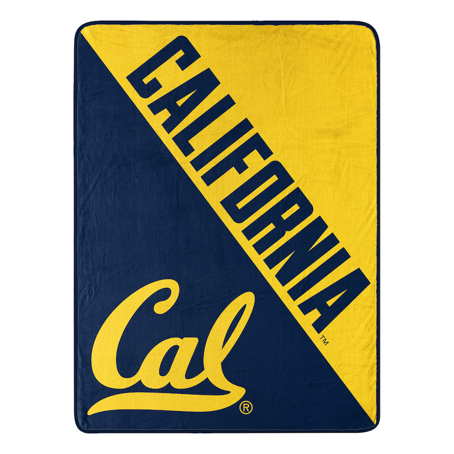 California Golden Bears Micro Raschel 50 x 60 Team Blanket