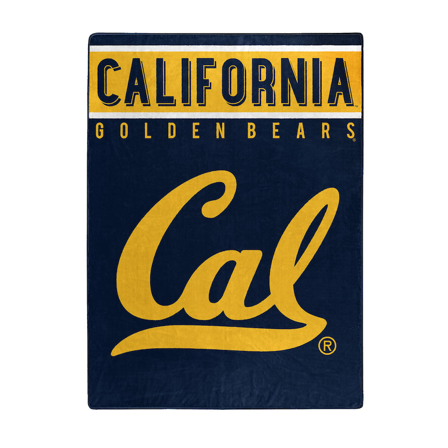 California Golden Bears Large Plush Fleece OVERTIME 60 x 80 Blanket