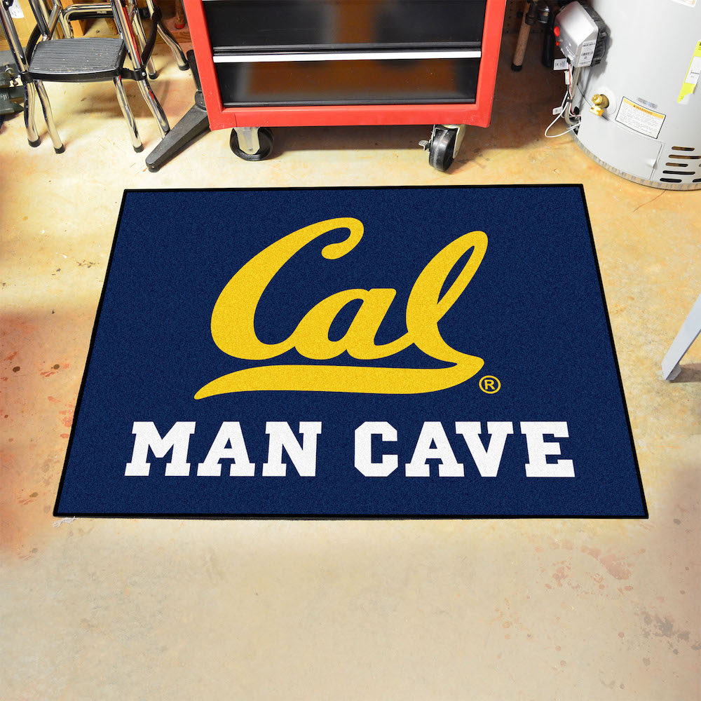 California Golden Bears ALL STAR 34 x 45 MAN CAVE Floor Mat