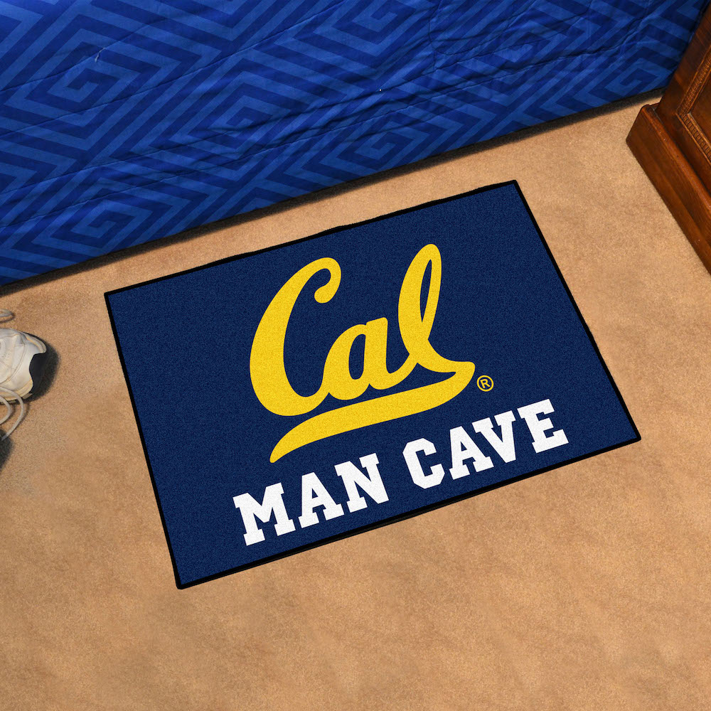 California Golden Bears MAN CAVE 20 x 30 STARTER Floor Mat