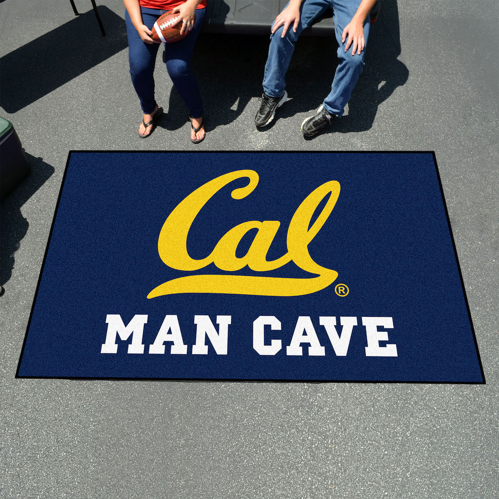 California Golden Bears UTILI-MAT 60 x 96 MAN CAVE Rug