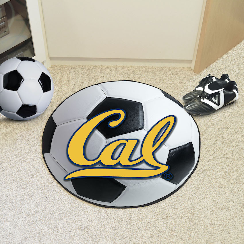 California Golden Bears SOCCER BALL Mat