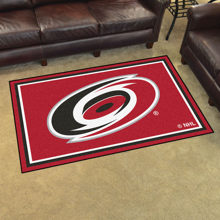 Carolina Hurricanes 4x6 Area Rug