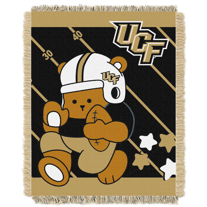 Central Florida Knights Woven Baby Blanket 36 x 48