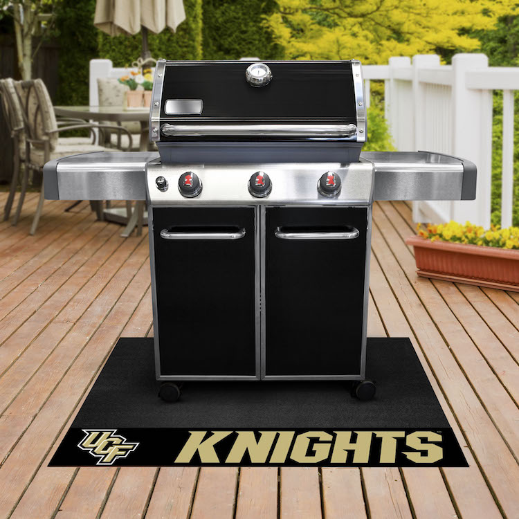 Central Florida Knights NCAA Grill Mat