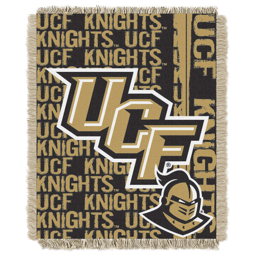 Central Florida Knights Double Play Tapestry Blanket 48 x 60